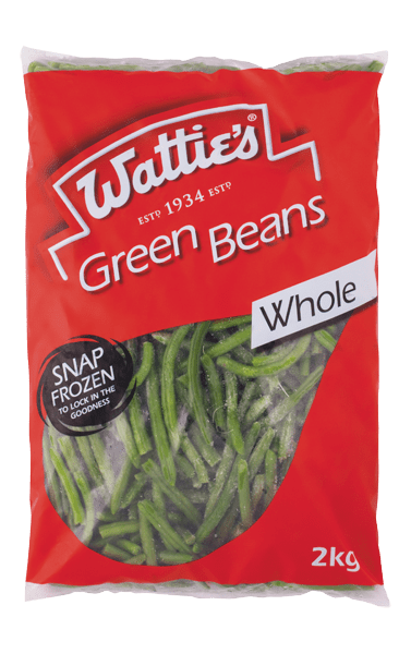Wattie's Whole Green Beans 2kg