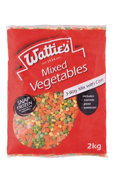 Wattie's Mixed Vegetables with Corn 2kg image