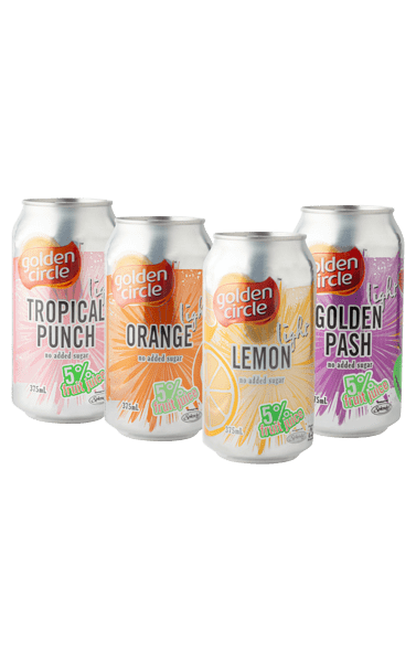 Golden Circle Diet Soft Drink Variety 12 Pack 375mL image