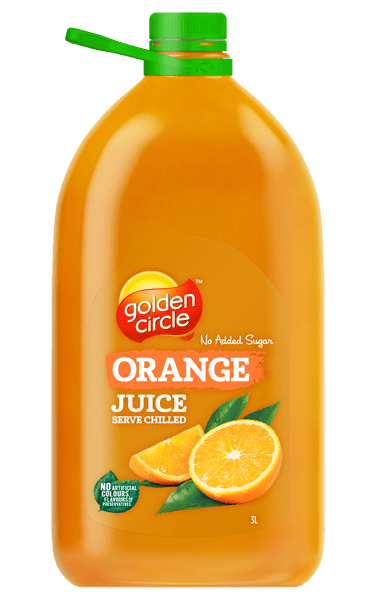 Golden Circle Orange Juice 3L
