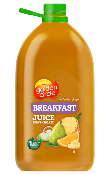 Golden Circle Breakfast Juice 3L
