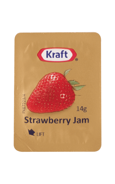 Kraft Strawberry Jam Portion 14g