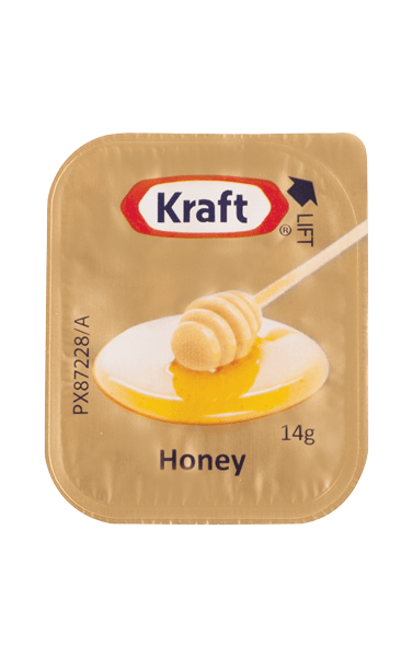 Kraft Honey Portion 14g