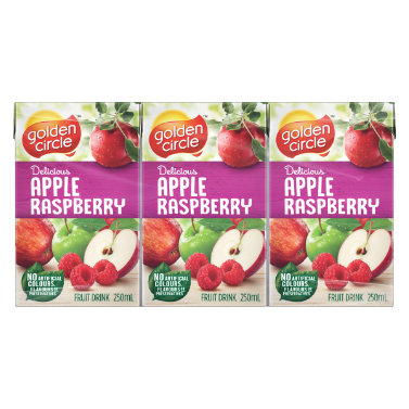 Golden Circle Apple Raspberry Fruit Drink 250mL image