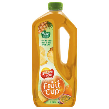 Golden Circle Fruit Cup Cordial