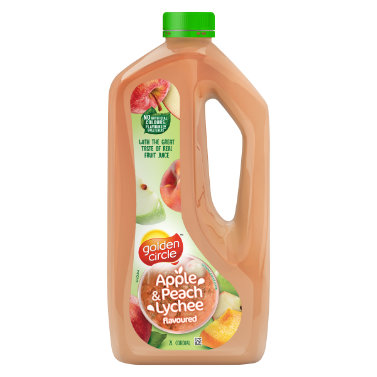 Golden Circle Apple Peach Lychee Cordial 2L