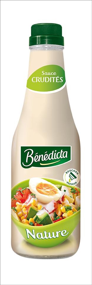 Bénédicta Sauce Crudités Légère 745g Bocal image