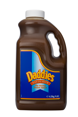 Daddies Brown 4L Handle Jars image