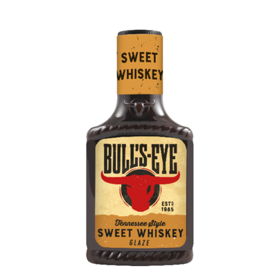 Bull's Eye Sweet Whiskey Glaze 300gm Top Down image