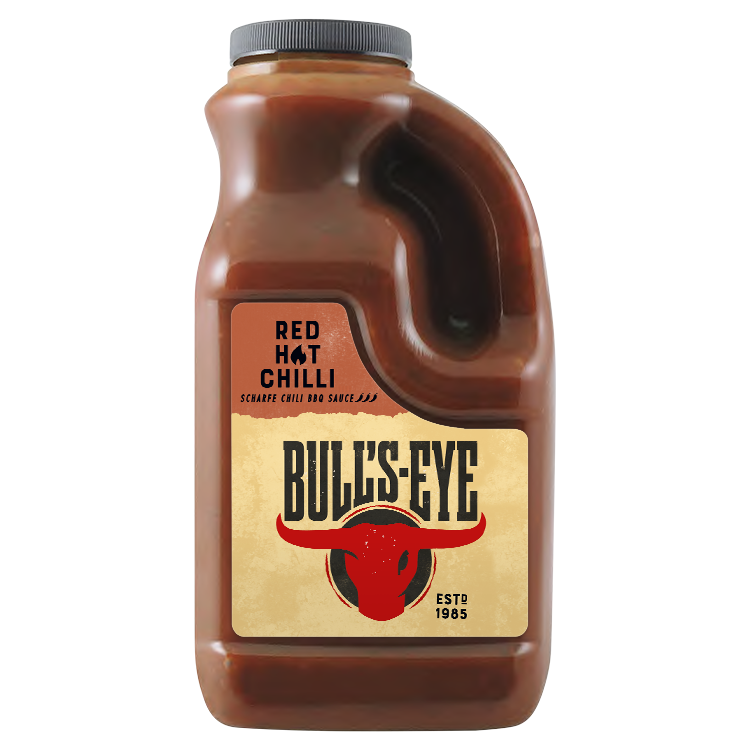 Bull's Eye BBQ Hot Chili Sauce 2L Handle Jars image