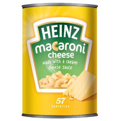 Heinz Macaroni Cheese 400gm Small Can image