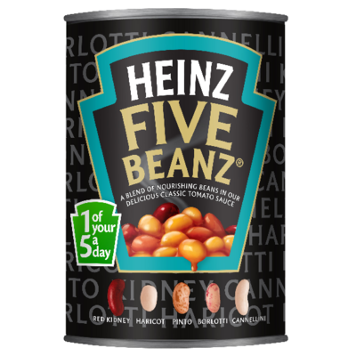 Heinz Five Beanz Tomato 415gm Small Can image