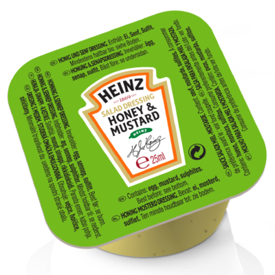 Heinz Honey Mustard 25ml Dip Pot image