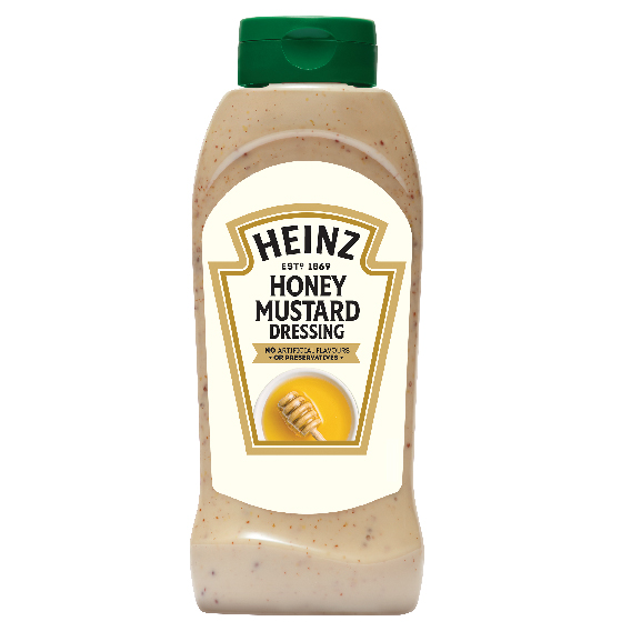 Heinz Honey&Mustard 800ml Bottom Up image