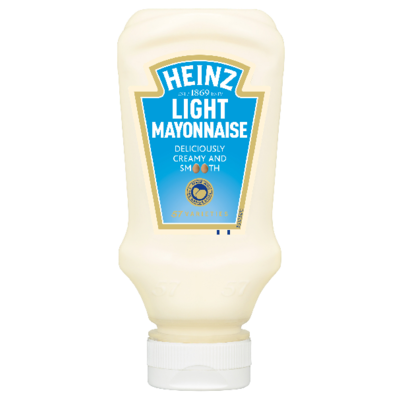 Heinz Mayonnaise Light 230gm Top Down image