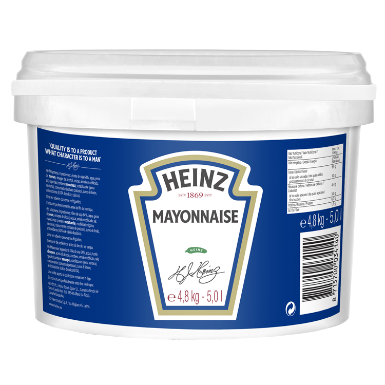 Heinz Mayonnaise 5L Pail image