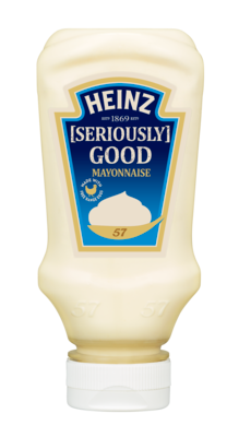 Heinz Mayonnaise 220ml Top Down image