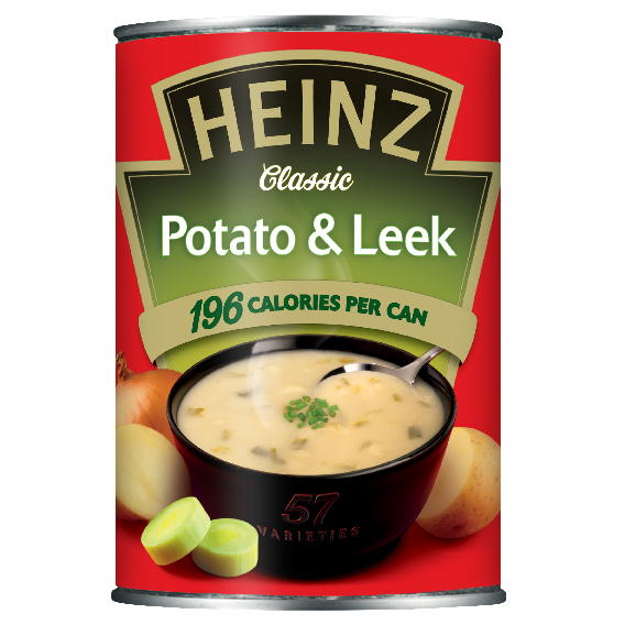 Heinz Potato & Leek 400gm Small Can image
