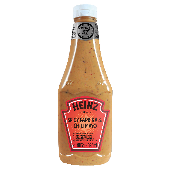Heinz Spicy Paprika&Chili Mayo 875ml Bottom Up image