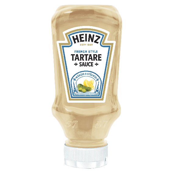 Heinz Tartare 220ml Top Down image