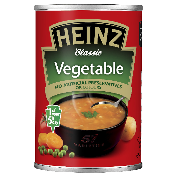 Heinz Vegetable 300gm Small Can image
