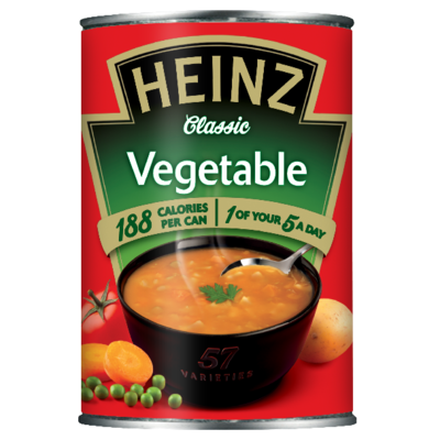 Heinz Vegetable 400gm Small Can image