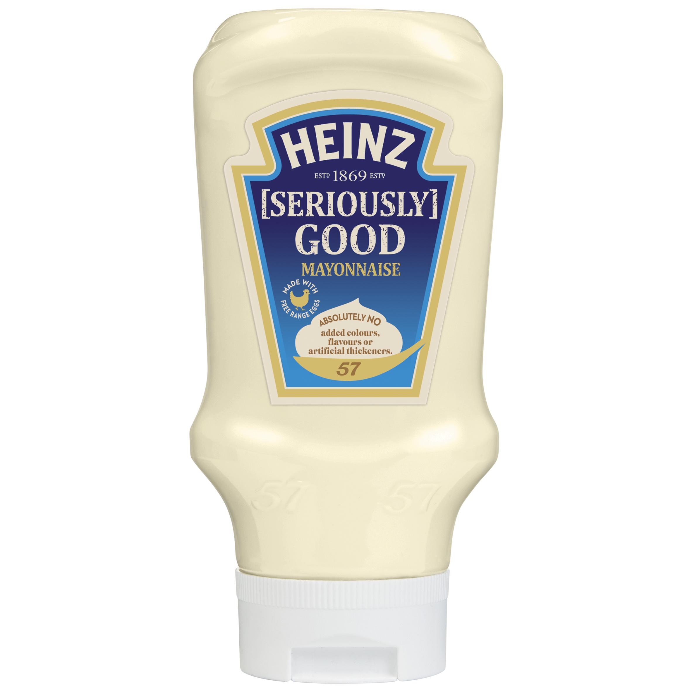 Heinz Mayonnaise 395gm Top Down image