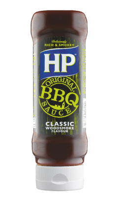 HP Classic BBQ 465gm Top Down image