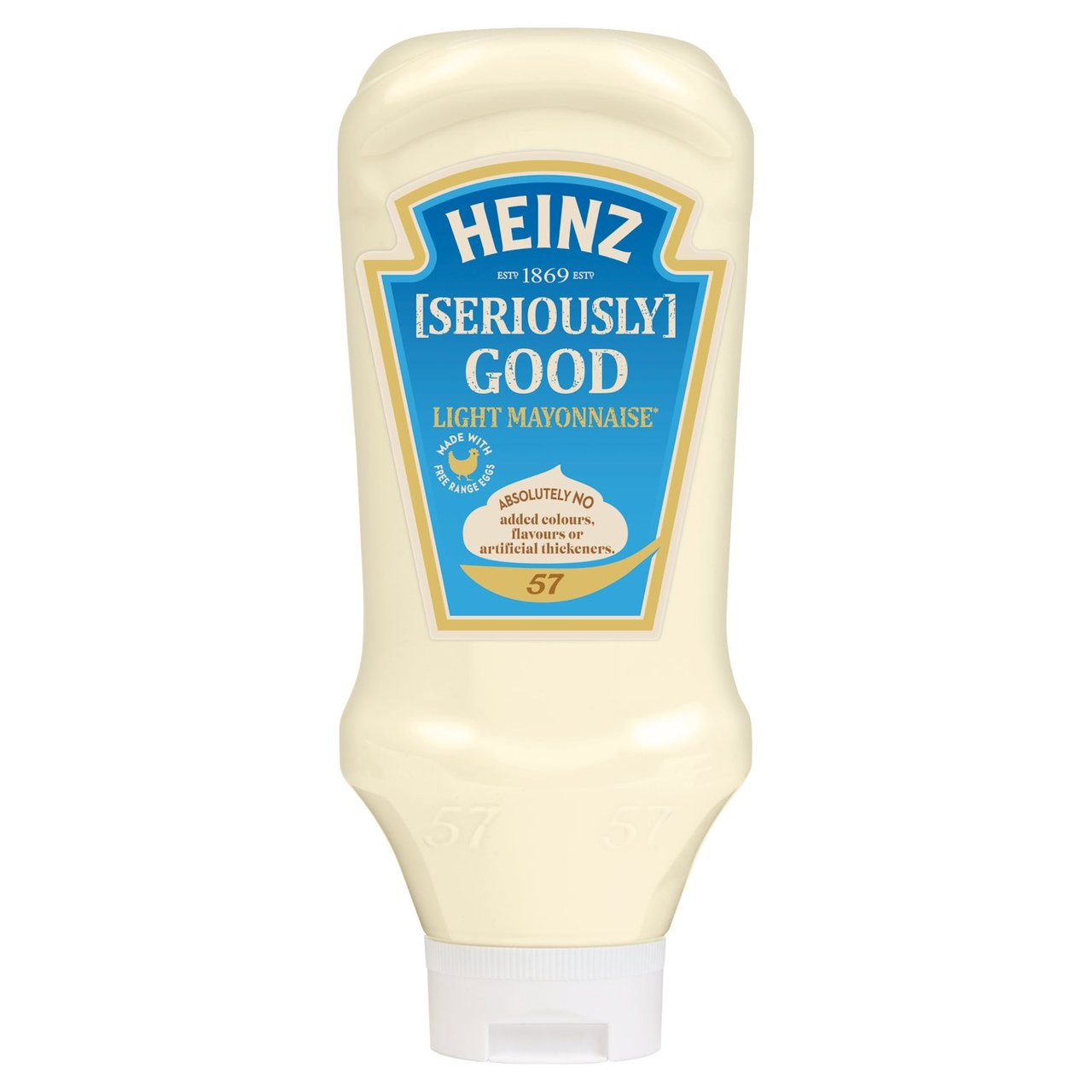 Heinz Mayonnaise Light 800ml Top Down image