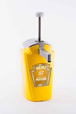 Sauce-O-mat dispenser 2.5L YELLOW MUSTARD image