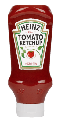 Heinz Tomato Ketchup 700gm Top Down image