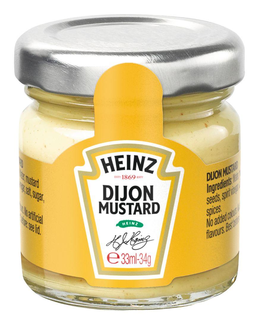 Heinz Dijon Senf 33ml image