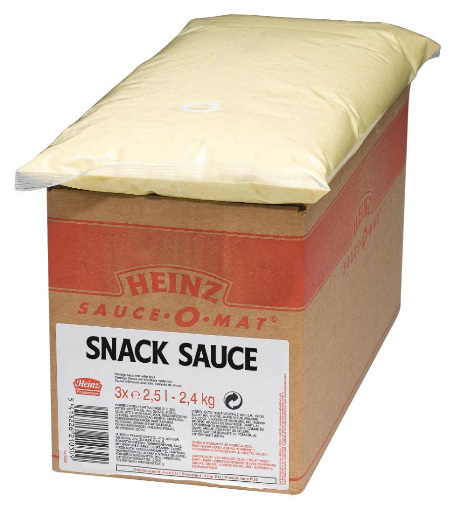 Heinz Snack SauceSpenderbeutel 2500ml image