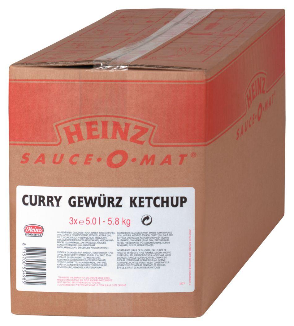Heinz Curry Gewürz Ketchup 5000ml image