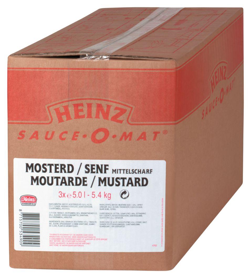Heinz Senf mittelscharf 5000ml image