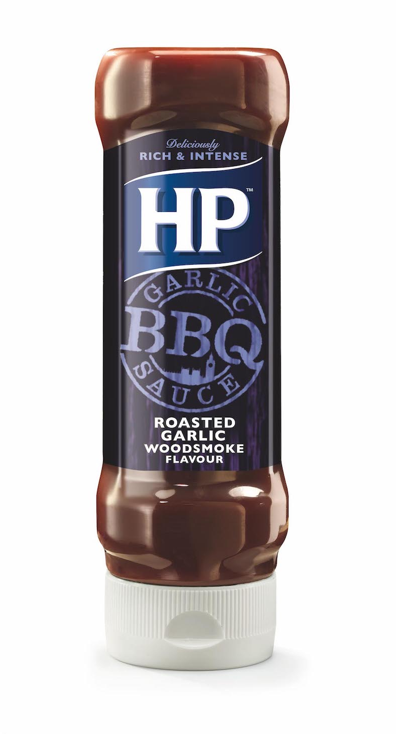 HP BBQ Sauce Roasted Garlic 400ml image
