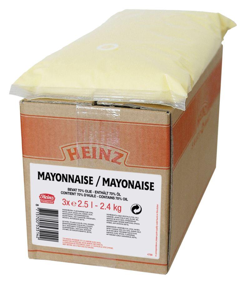 Heinz Mayonaise Spenderbeutel 2500ml image