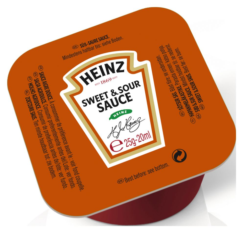 Heinz Sweet & Sour Sauce 25g image