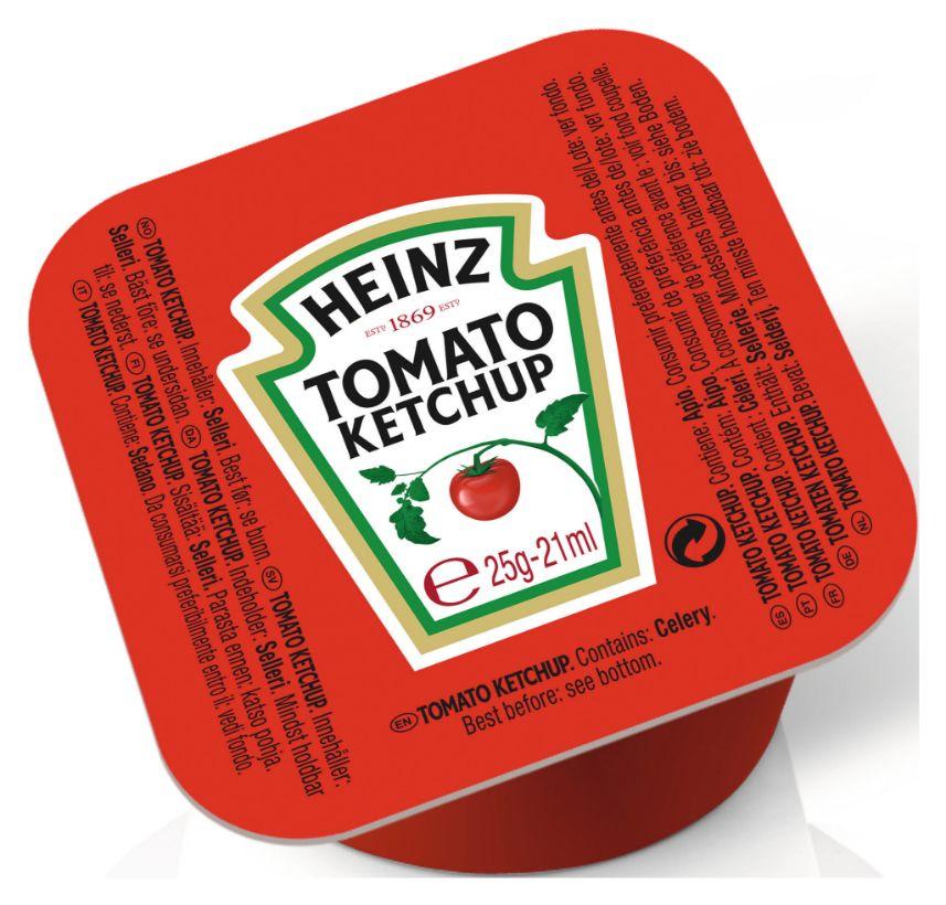 Heinz Tomaten Ketchup 25g image