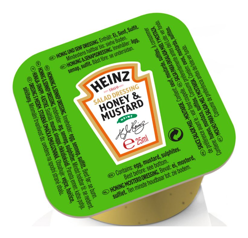 Heinz Honey Mustard Dressing 25g image