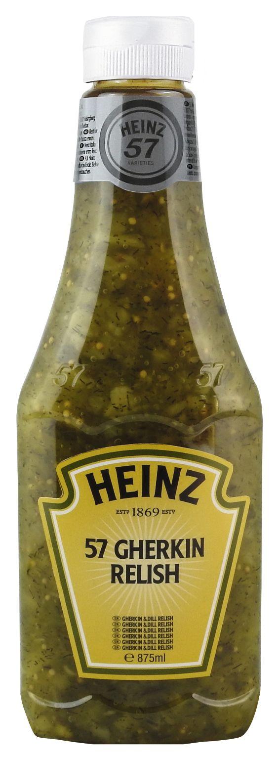 Heinz 57 Gherkin Relish 875ml image