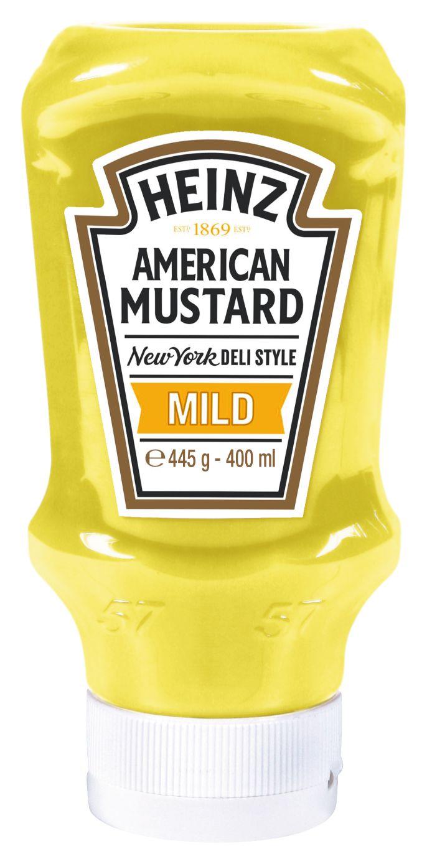 Heinz American Mustard Mild 400ml image