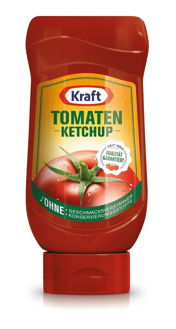 Kraft Tomaten Ketchup 410ml image