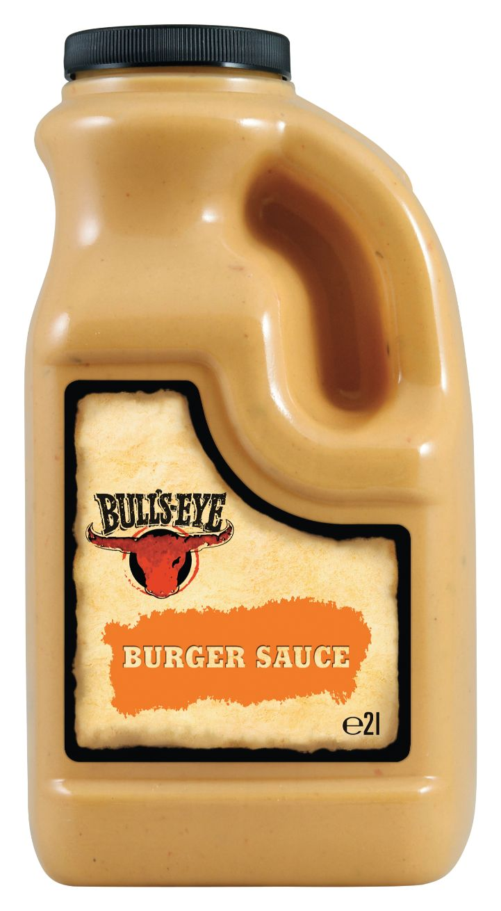 Bull's Eye Burger Sauce, Rauchig-Würzig 2000ml image