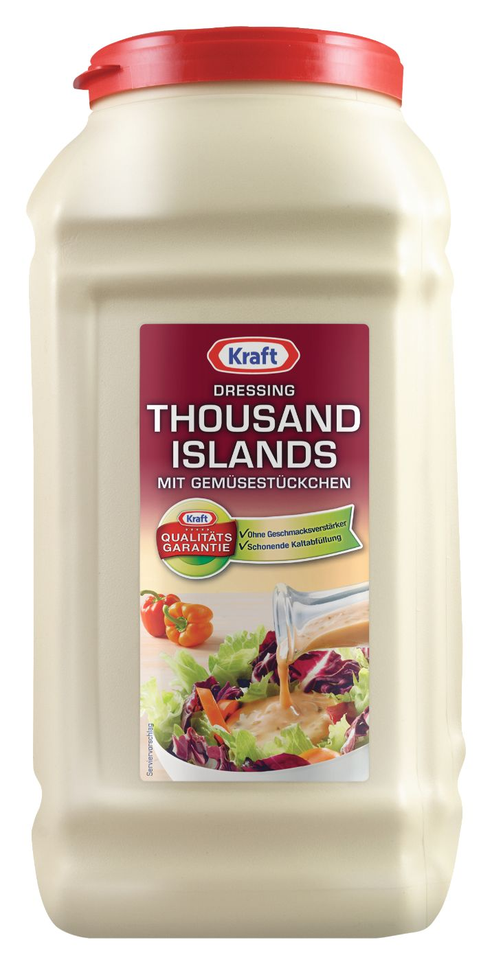 Kraft Thousand Island Dressing 5000ml image