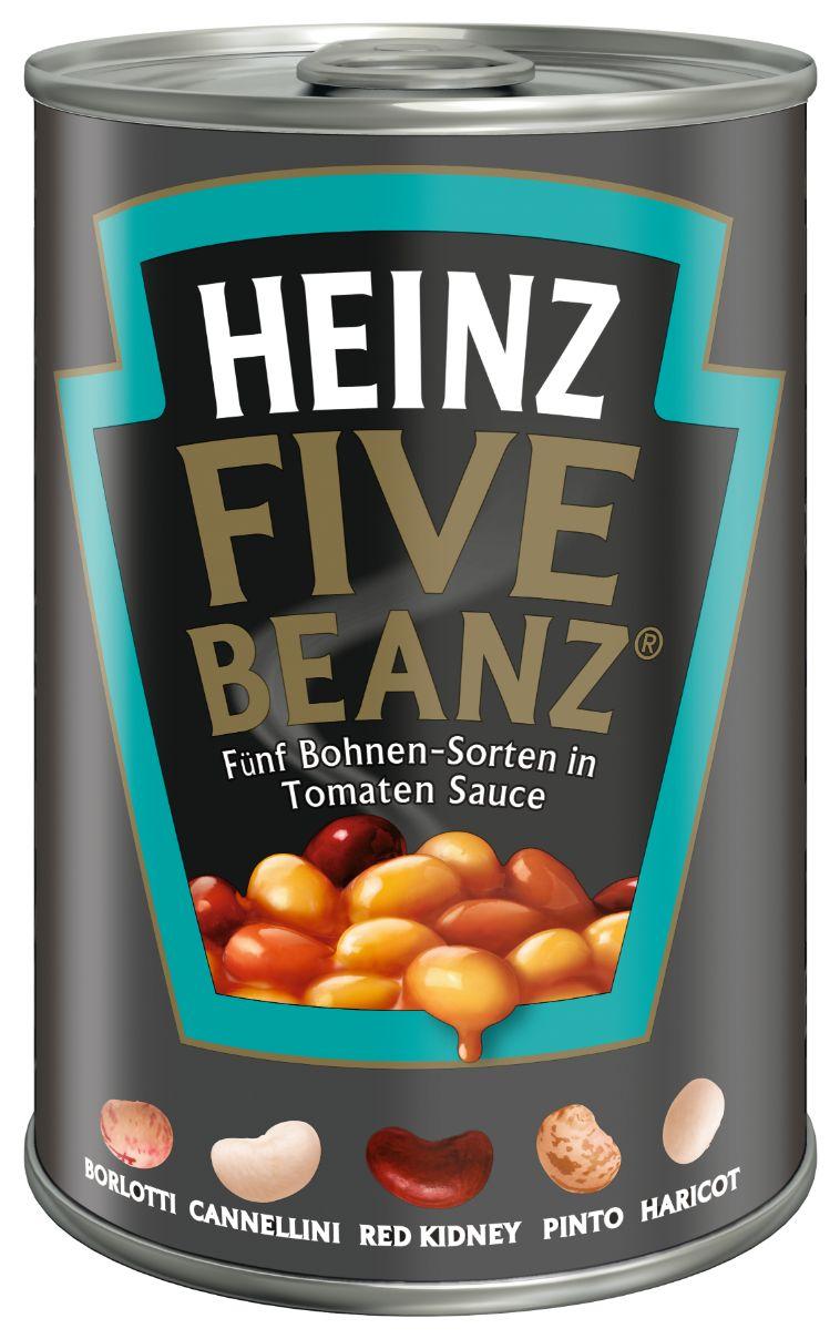 Heinz Five Beanz Tomato Sauce 415g image