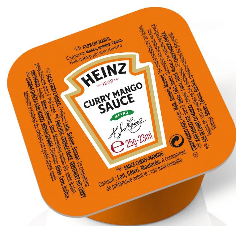 Heinz Curry Mango Sauce 25g image