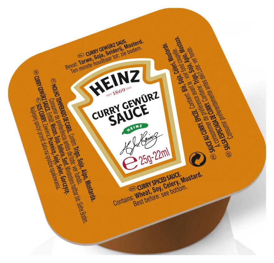 Heinz Curry Gewürz Sauce 25g image
