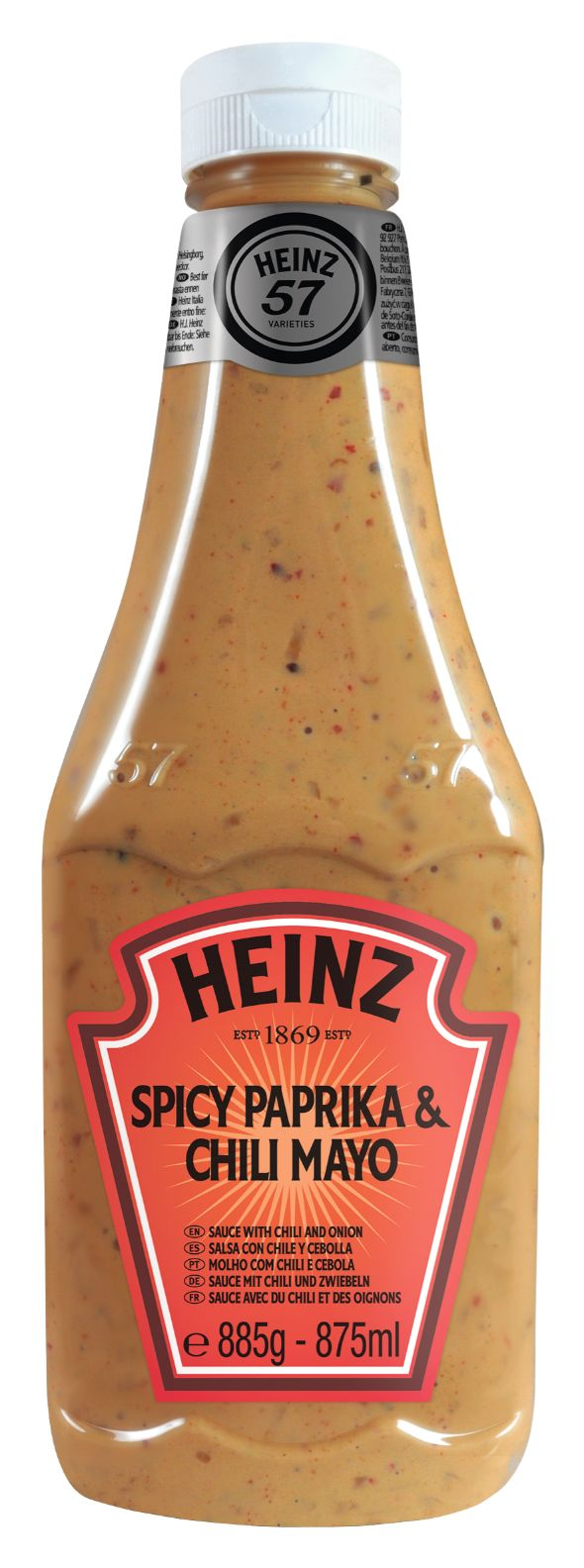 Heinz Spicy Paprika & Chili Mayo 875ml image