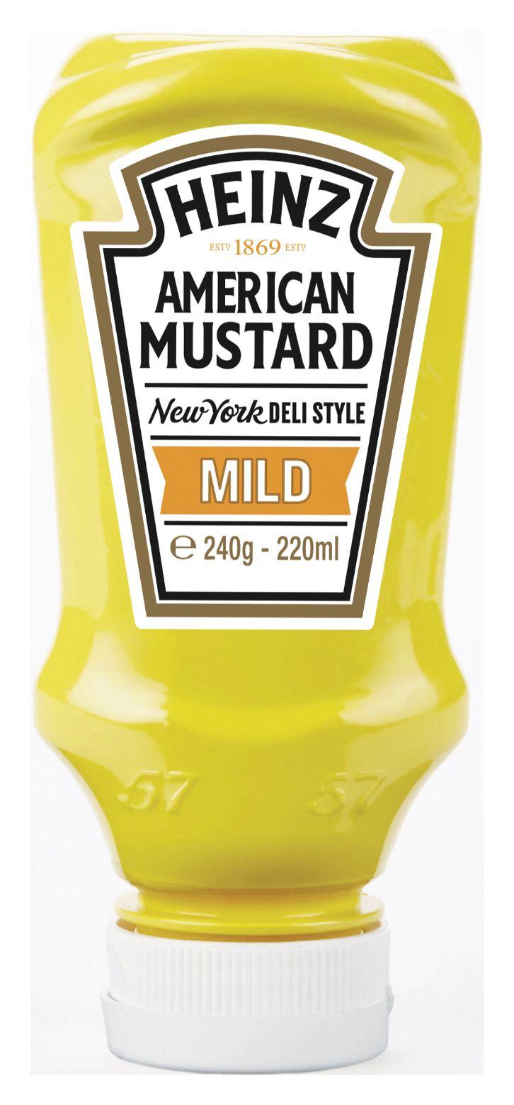 Heinz American Mustard Mild 220ml image